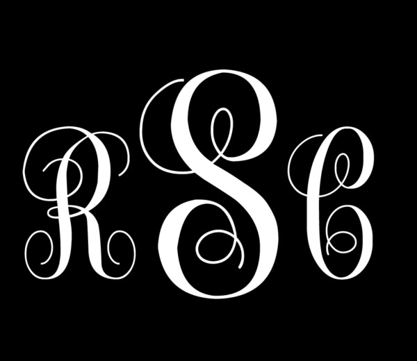 Monograms P8
